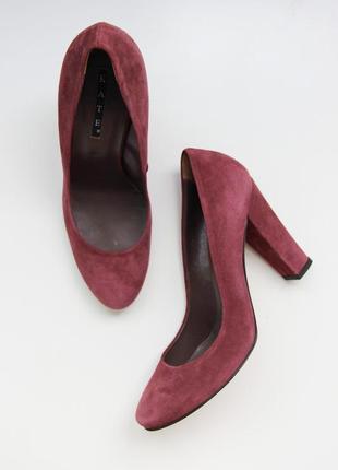 Замшевые туфли kate 100 % натуральная кожа