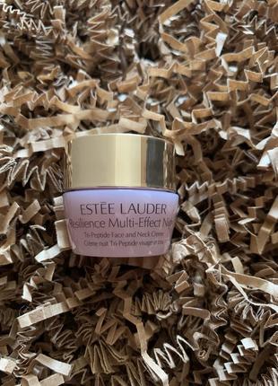 Ночной лифтинговый крем для кожи лица и шеи estée lauder resilience multi-effect night