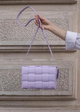 Женская сумка в стиле veneta bottega. женская сумка через плече.