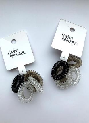 Качественные резинки-пружинки для волос/на руку hair republic германия