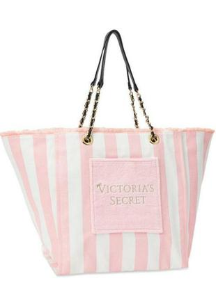 Пляжная городская сумка victoria's secret виктория сикрет