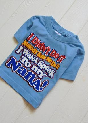 R.r roberts. размер 3-6 месяцев. яркая футболка для маленького модника