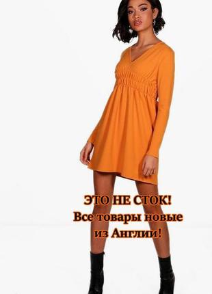 Boohoo.товар из англии. платье в популярном фасоне скейтер.на наш размер 36/38