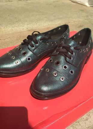 Туфли с натуральной кожи!!