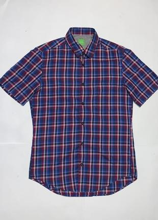 Шведка, тенниска, рубашка с коротким рукавом hugo boss