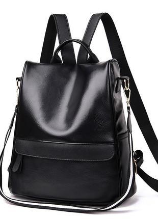 ⭐️новинка⭐️ новый классный рюкзак сумка эко кожа / городской / повседневный