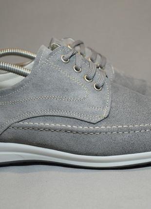 Туфли larson кроссовки мужские замшевые. италия. оригинал. 43 р./28 см.