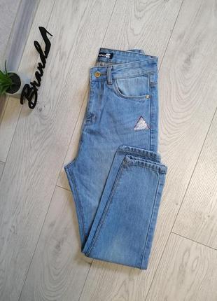 Стильные джинсы мом момы mom с высокой посадкой