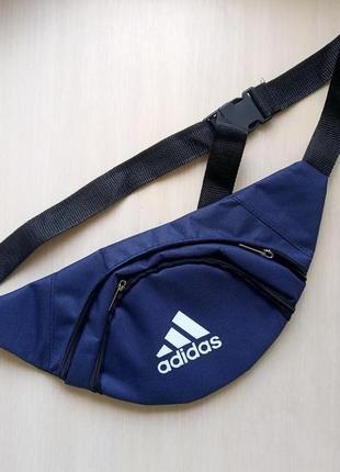 Мужская сумка бананка на пояс или через плечо