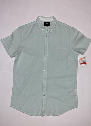 Шведка, рубашка с коротким рукавом, тенниска clockhouse