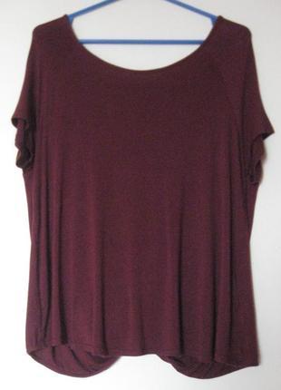 Блуза вискоза с открытой спиной