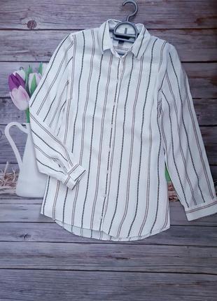 Стильная блузка рубашка вискоза