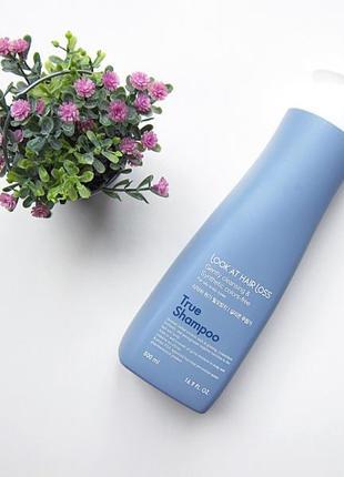 Шампунь с экстрактом восточных трав против выпадения волос
