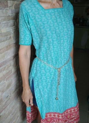 Платье сари туника