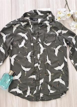 Классная блузочка с принтом