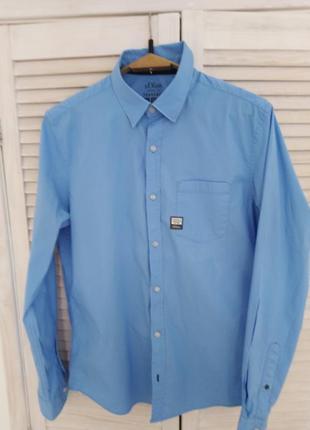 Рубашка slim fit разм.l на 180-185см/75-80кг