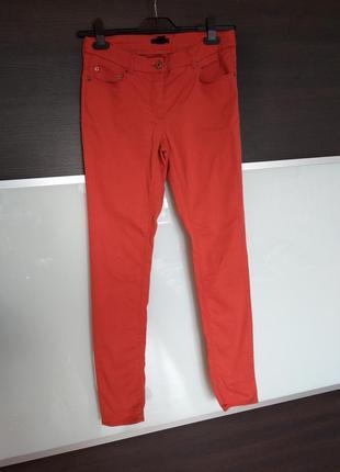 Яркие летние джинсы, скинни штаны h&m