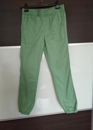 Легкие хлопковые штаны джоггеры campus