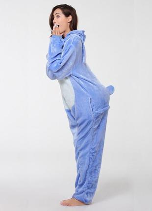 🎁подари тепло❤тёплые мягкие пижамы кигуруми стич stich3 фото