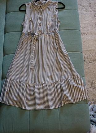 Платье для беременных в полоску yula mama