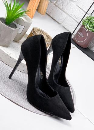 Туфли женские roza черные