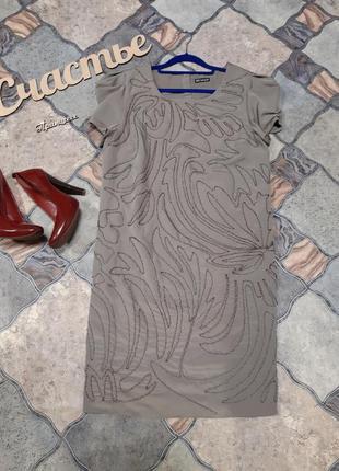 Стильное платье, размер l