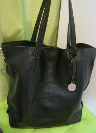 Furla.италия.нат.кожа сумка - шоппер. дешево!
