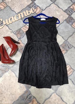 Ажурное платье, размер xl маломерит