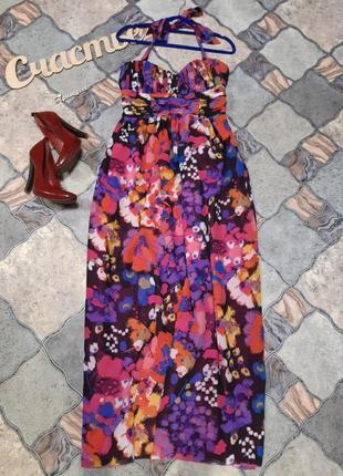 Яркое платье,размер l