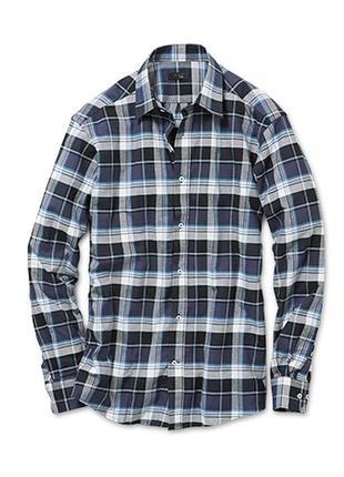 Рубашка в клетку фланелевая размер 48-50 наш tchibo тсм