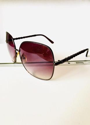 Дизайнерские женские очки, линза градиент