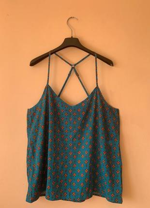 Шелковая женская блуза hollister