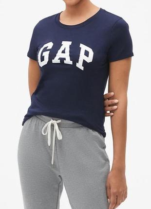 Футболка с лого gap , оригинал