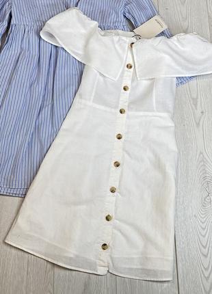 Шикарное  белое платье на подкладке
