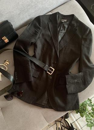 Базовый оверсайз пиджак h&m р.m/l