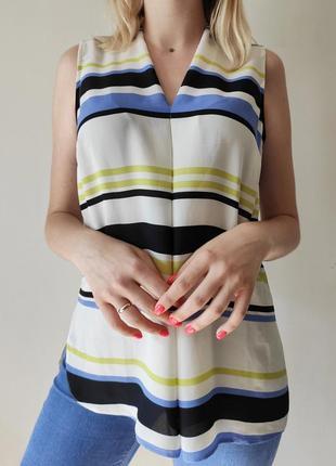 Стильная блуза в полоску от george