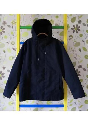 Синя куртка синяя дощовик дождевик reserved l