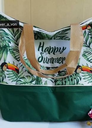 Пляжная сумка тропическое лето от ив роше