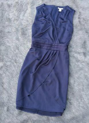 Платье с имитацией запаха h&m1 фото