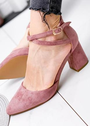 Туфли женские paola пудра
