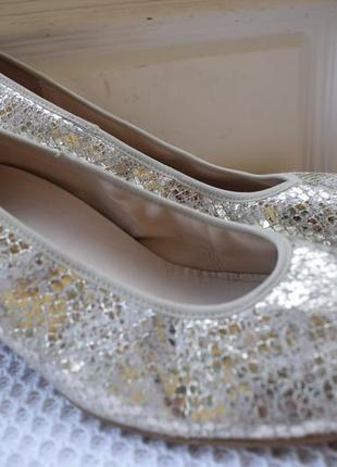 Кожаные туфли балетки лодочки мокасины semler германия ортопедические р.7 27 см р.41