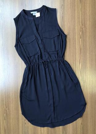Лёгкое платье рубашка