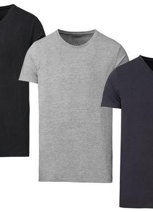 Комплект 3-х базовых футболок европейского качества