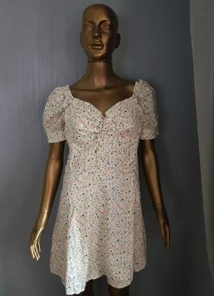 Patricia pepe jeans платье цветочный принт