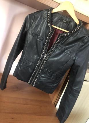 Куртка colin's кожа/кож-заменитель