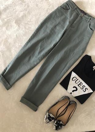 Крутые мятные джинсы от gloria vanderbilt отлично тянутся