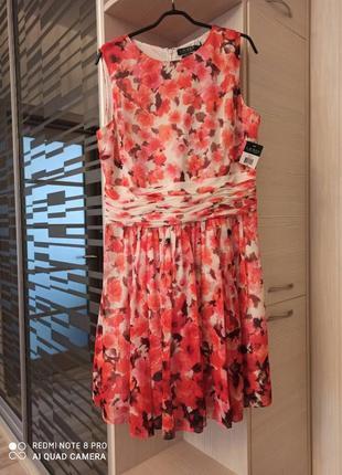 Платье в цветы ralph lauren
