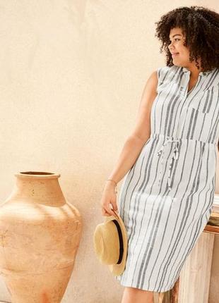 Льняное платье esmara германия - супер!