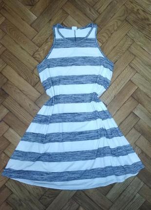 Плаття платье в полоску