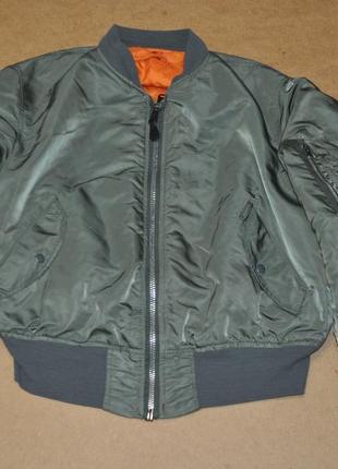 Alpha ma-1 бомбер дутый куртка
